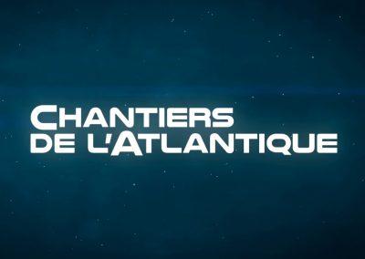 Logo Chantier de l'Atlantique. Client de Budo Sécurité.