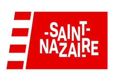 Logo de la mairie de Saint Nazaire. Client de l'agence de sécurité Budo Sécurité.
