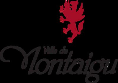 Logo de la mairie de Montaigu. Client de l'agence de sécurité Budo Sécurité.